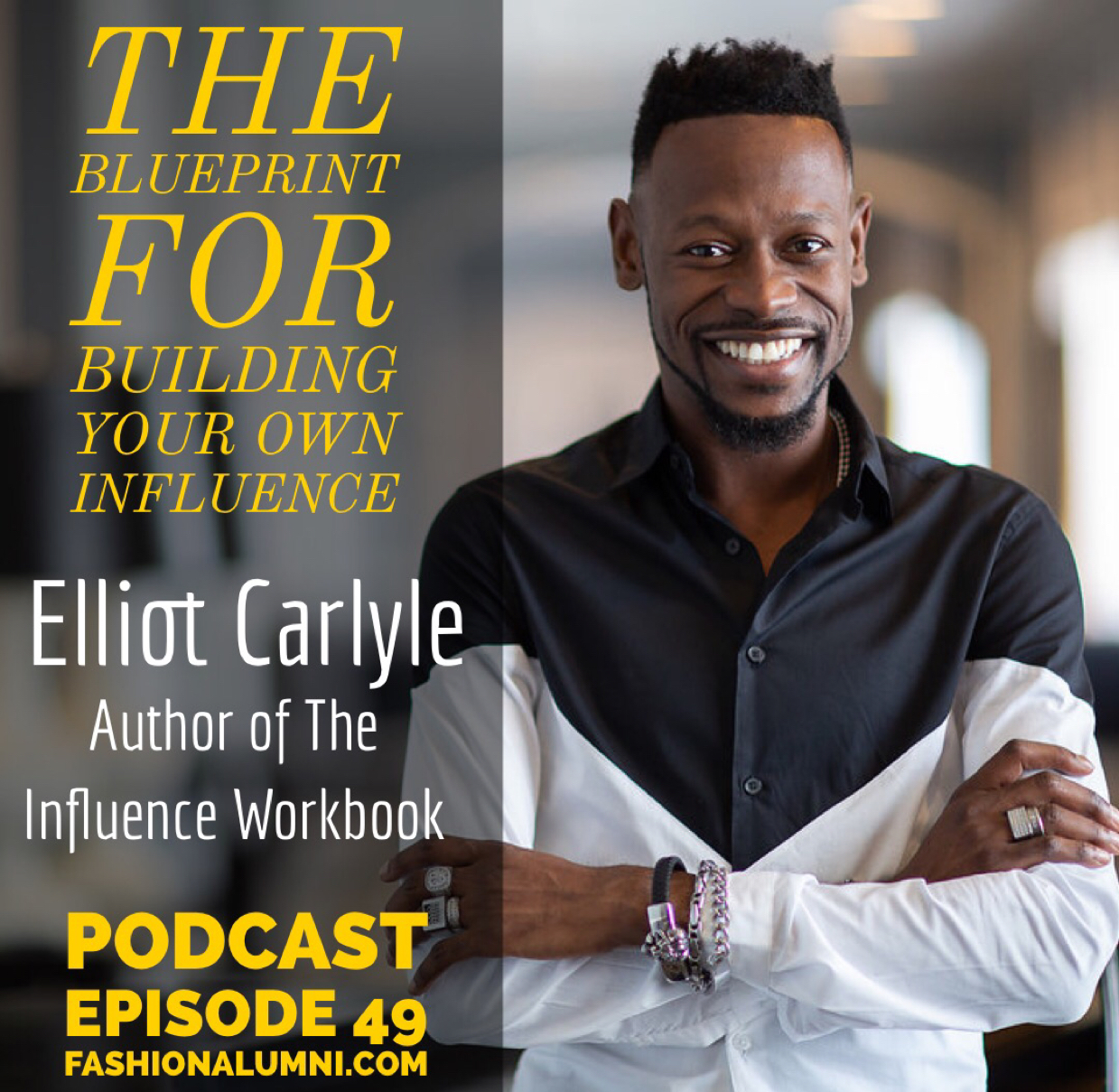 Elliot Carlyle shares on the Fashion Alumni Podcast